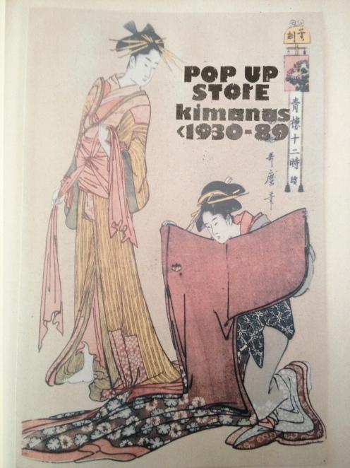 Kimonos 1930-1989
